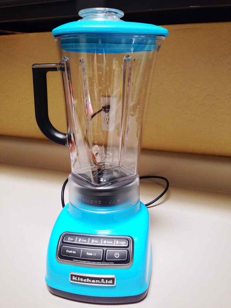 KitchenAid 5-Speed Diamond Blender in Crystal Blue