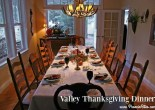 Thanksgiving Dinner in the Valley