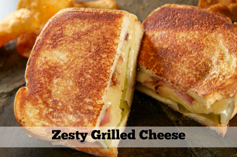 Trendy Grilled Cheese Sandwich Pairings: Zesty Grilled Cheese