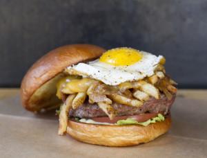 Hopdoddy Poutine Burger