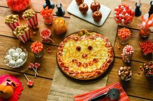 Papa Murphy's Jack-O-Lantern Pizza