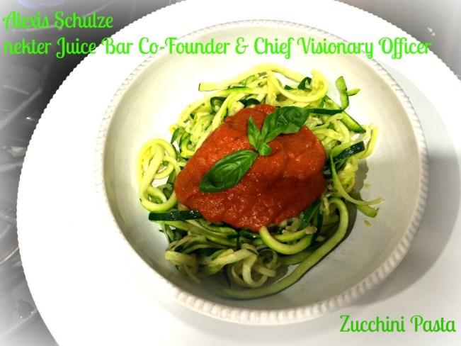 Zucchini Pasta Complete