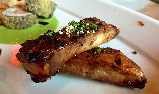 Grilled Szechaun Spiced Pork Ribs