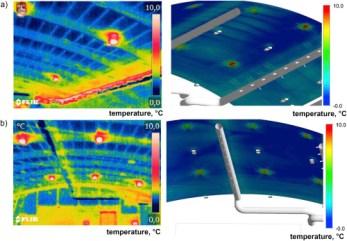 mapeo de humedad y temperatura de cuarto frios