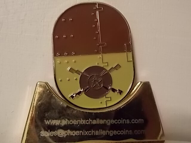 451ST AIR EXPEDITIONARY WING LIMITED EDITION HERITAGE COIN BY PHOENIX CHALLENGE COINS