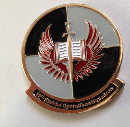 19th Special Operations Squadron AFSOC Custom Challenge Coin by Phoenix Challenge Coins