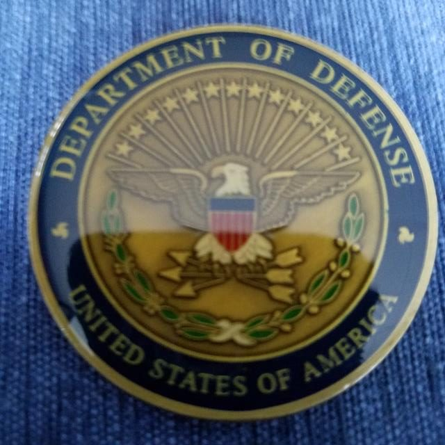 US Department of Defense Director Counter Intelligence Commanders Coin