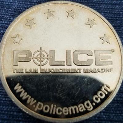 Police Magazine 25th Anniversary Challenge Coin