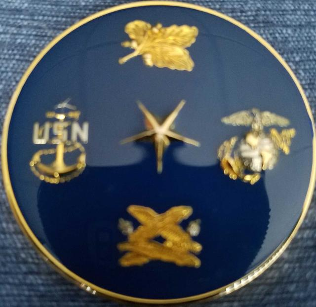 US Navy Officer Candidate School OCS 11-09 Newport, RI Challenge Coin back
