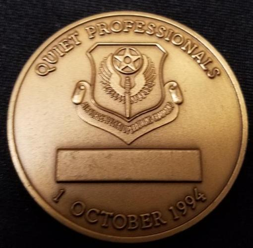 Rare AFSOC 6th Special Operations Squadron Air Commandos 6th SOS challenge coin back