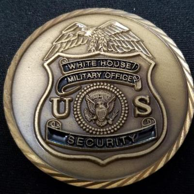 White House Military Office Security Custom Challenge Coin