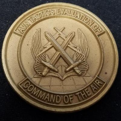 JSOC Tier 1 CIA ISA Aviation Tactics and Evaluation Group AVTEG Commanders Challenge Coin