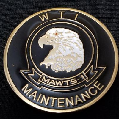 USMC MAWTS-1 WTI Maintence Challenge Coin By Phoenix Challenge Coins