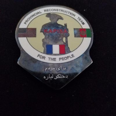 PRT Kapisa Integrated Joint Civ-Mil OEF Deployment Custom Challenge Coin by Phoenix Challenge Coins
