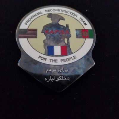 PRT Kapisa Integrated Joint Civ-Mil OEF Deployment Custom Challenge Coin by Phoenix Challenge Coins