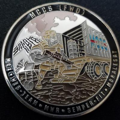 1st Marine Logistics Group Fwd MCCS OEF 10 Deployment Challenge Coin by Phoenix Challenge Coins