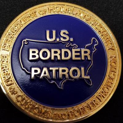 US Customs and Border Protection San Diego District Critical Incident Investigative Team USCBP CIIT Team Custom Challenge Coin By Phoenix Challenge Coins