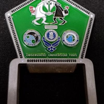 Rare Pentagon US Air Force Departmental Requirements Office AFDRO1 Intel community challenge coin by Phoenix Challenge Coins