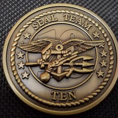 US Navy Seal Team 10 Challenge Coin