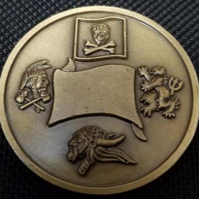 US Navy Seal Team Six DEVGRU Challenge Coin v2 back