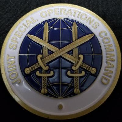 DCG JSOC Joint Special Operations Command Deputy Commanding General Coin Unnamed USAF General Officer Challenge Coin