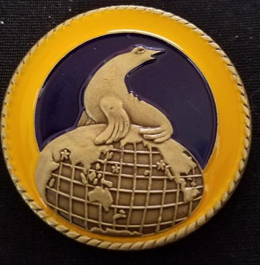 US Naval Special Warfare Group 1 NSWG-1 Navy Seal Commanders challenge coin