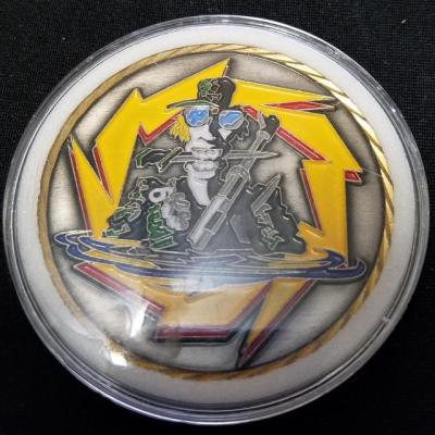 Ultra Rare Central Intelligence Agency Directorate of Operations National Clandestine Service Special Operations Paramilitary Div CIA DO NCS SO PMD V2 challenge coin