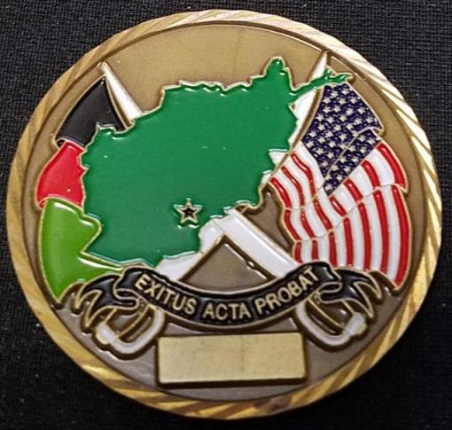 Rare Authentic FOB Gecko JSOC CIA Anti-Terrorism Task Force Team Challenge Coin back