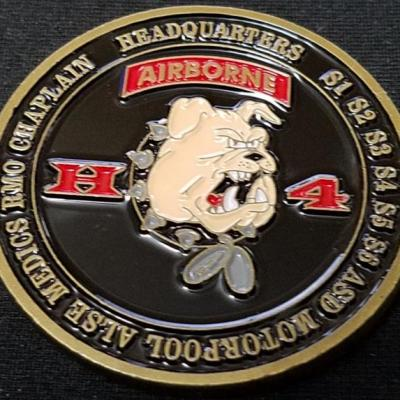 ARSOAC 4/160TH SOAR(A) HHC 160th Special Operations Aviation Regiment 4th Battalion Headquarters Company Challenge Coin