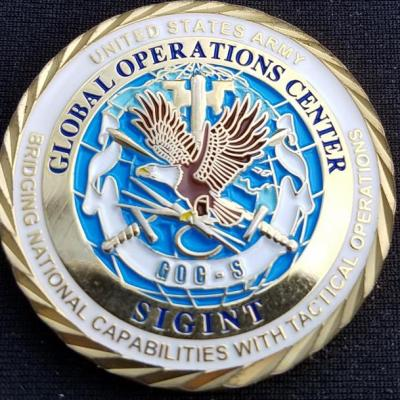 NSA US Army Global Signals Intelligence Center Commander's Coin by Phoenix Challenge Coins