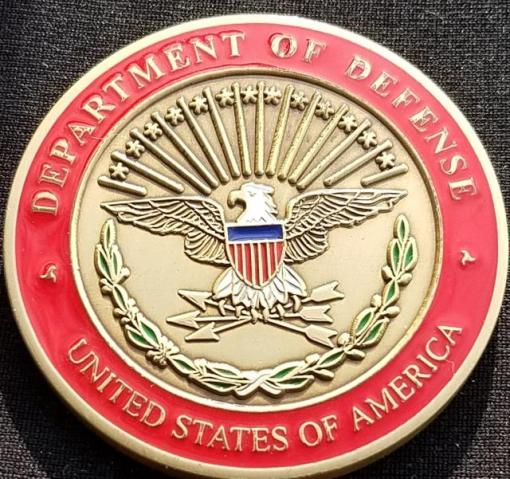 Deputy Secretary of Defense Legislative Affairs Custom Department of Defense Challenge Coin by Phoenix Challenge Coins