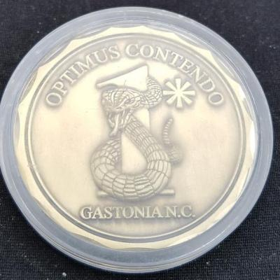 Gastonia PD 2010 Sniper Conference Challenge Coin By Phoenix Challenge Coins