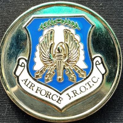 Franklin County VA High School USAF JROTC Challenge Coin