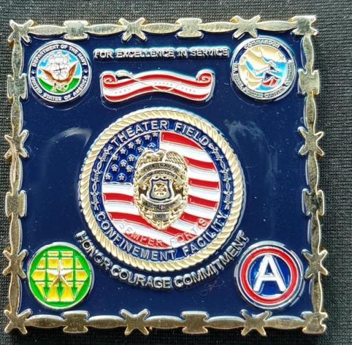 US NAVCENT TFCF Det Juliet OIF/OND 2011 Commander's Coin