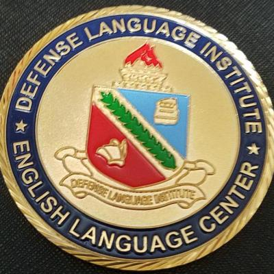 Defense Language Institute English Language Center Coin of Excellence by Phoenix Challenge Coins