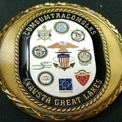 USN COMSUMTRACOMGLKS Commander's Award for Excellence Custom Medallion