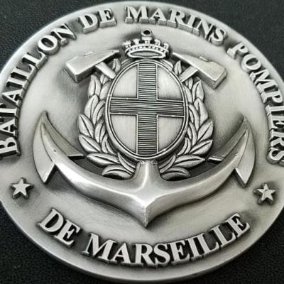 Battallion de Marins Pompiers Marseille Medallion