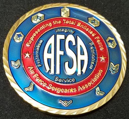 AFSA Chapter 1473 USAF Custom Coin by Phoenix Challenge Coins