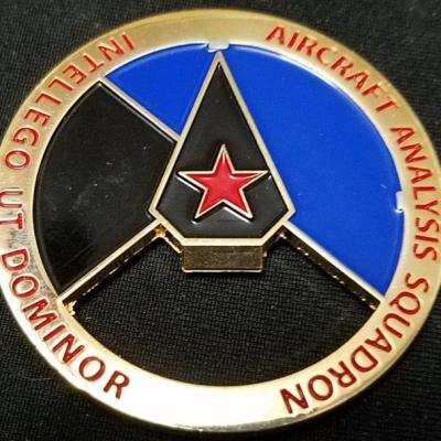 USAF Aircraft Analysis Squadron ISR Intelligence Command Bottle Opener Challenge Coin