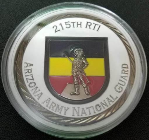 Arizona National Guard 215th RTI OCS Class 55-15 Challenge Coin