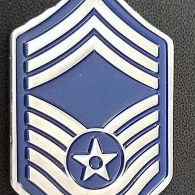 USAF 310th Space Wing Command Chief Master Sergeant Rank Shaped Challenge Coin