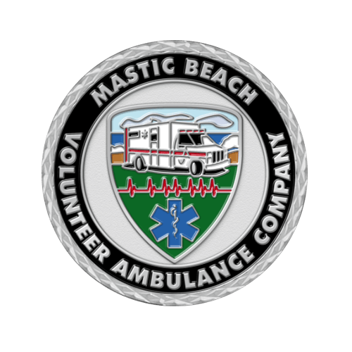 EMS Challenge Coins for Emergency Military Services Department