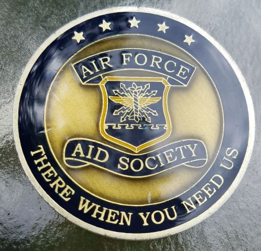 USAF Aid Society Gen Hap Arnold Founder Challenge Coin