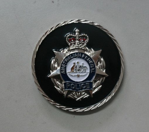Australian Federal Police Air Marshal Program Challenge Coin