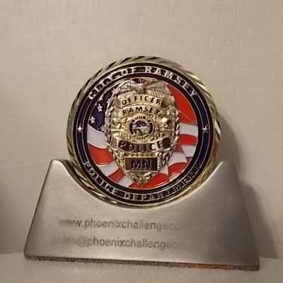 Ramsey Police Department MN Custom Coin PCC-ER14122202