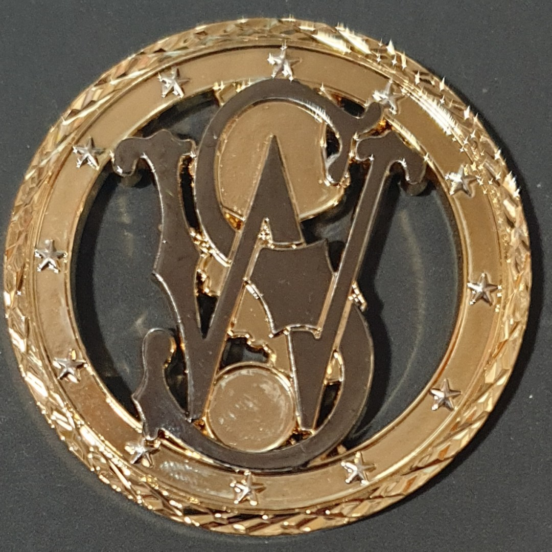 USAF 451st AIR EXPEDITIONARY WING Staff OEF Deployment Cutout Challenge Coin front