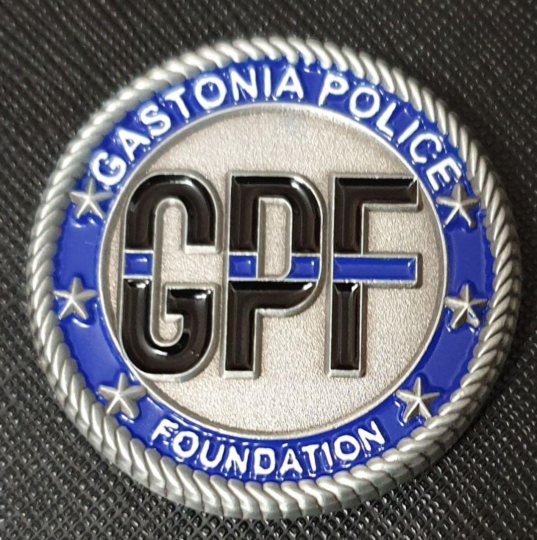 a Police Foundationlaw enforcement challenge coin