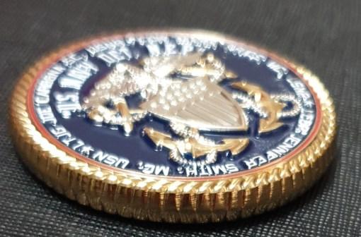 New England Patriots Joe Cardone USN DET NEP Challenge Coin 3