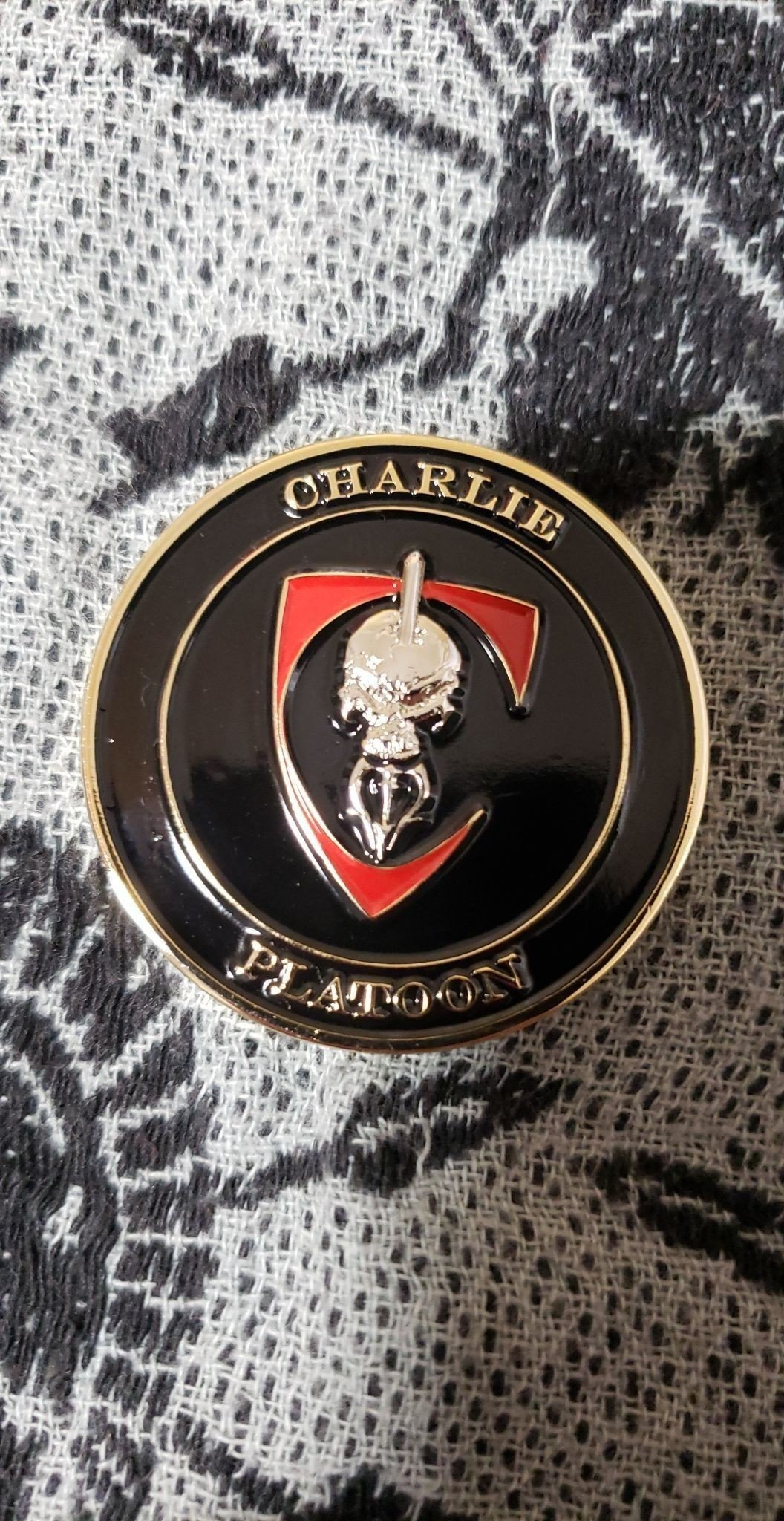 Authentic Rare Seal Delivery Vehicle Team One SDVT-1 Charlie Platoon seal  team challenge coin