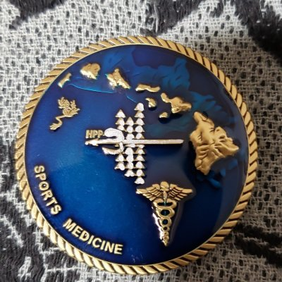 Authentic Rare Seal Delivery Vehicle Team One SDVT-1 Sports medicine seal team challenge coin front`
